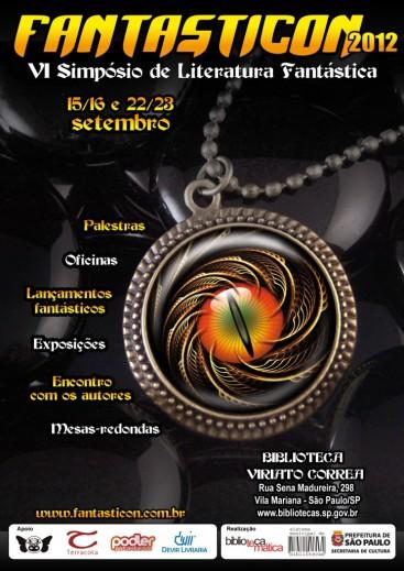 Cartaz Fantasticon 2012
